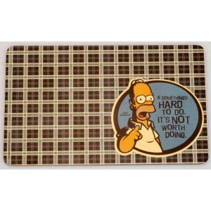 Berghoff Simpsons placemats Homer 4-delig