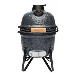keramische barbecue klein grijs