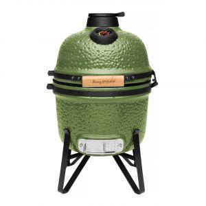 keramische barbecue small olijfgroen kopen