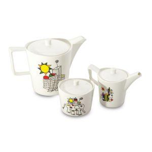 Berghoff koffie/thee serveerset 6-delig