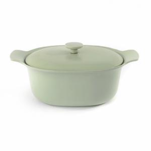 Berghoff kookpot ovaal groen deksel