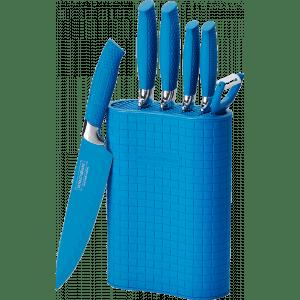 royaltyline messenset in houder kookmania blauw