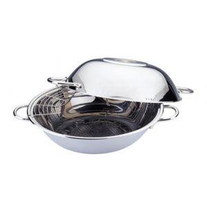 Berghff wok met 2 in 1 functie