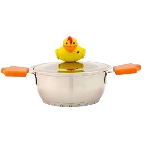 Kookpot met deksel van Sheriff Duck
