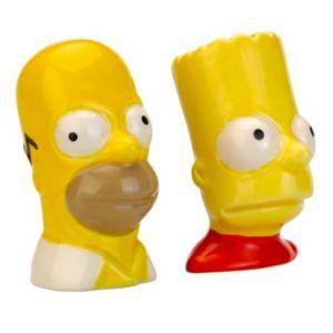 Peper en zout stel van The Simpsons