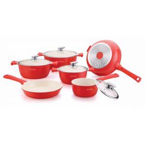 Super deluxe panneset rood keramisch