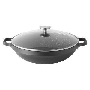 Berghoff Chinese wok met deksel 32 cm - Gem