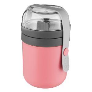 Berghoff Tweedelige lunchpot roze - Leo